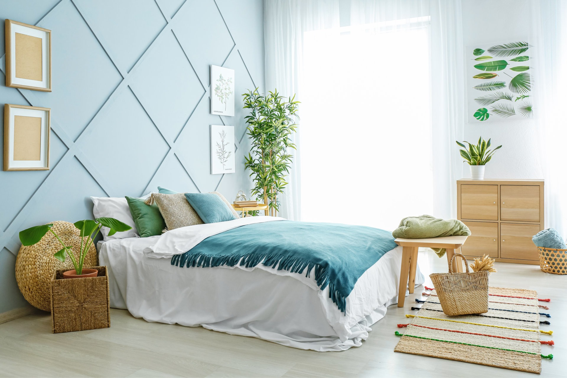 Six Relaxing Bedroom Ideas  National Bed Federation